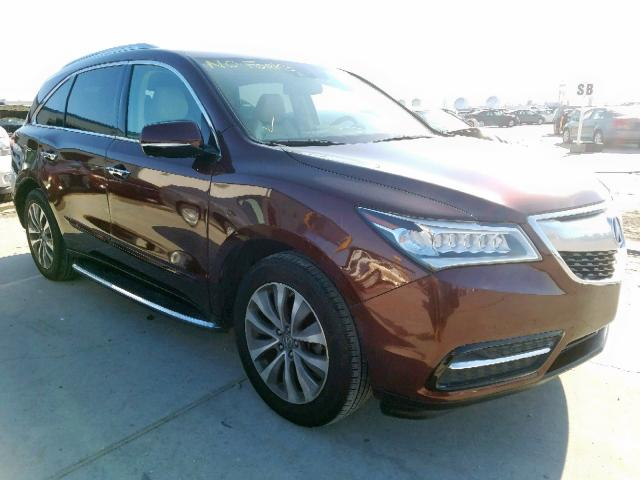 click here to view 2014 ACURA MDX TECHNO at IBIDSAFELY