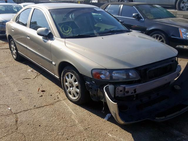 Volvo salvage cars for sale: 2001 Volvo S60