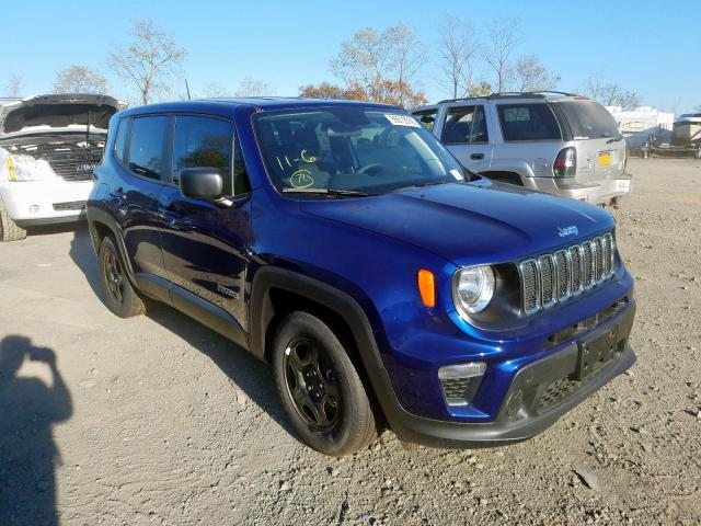 Salvage 2019 Jeep RENEGADE S for sale