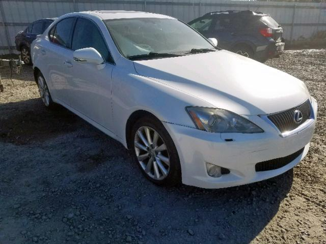 Salvage cars for sale from Copart Central Square, NY: 2009 Lexus IS 250