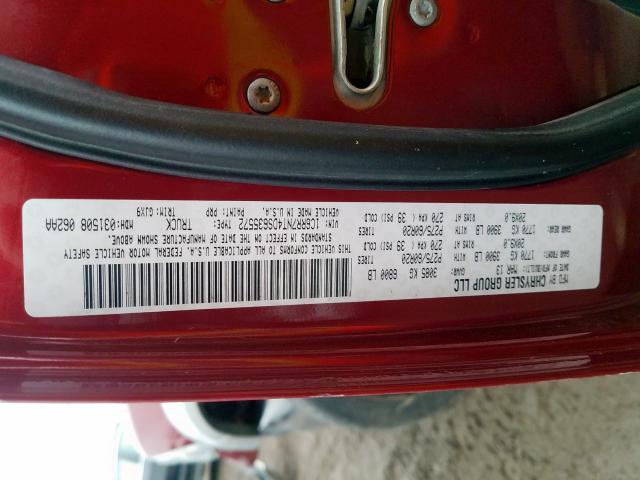 1C6RR7NT4DS635572 2013 RAM 1500 LARAMIE