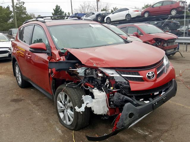Toyota Rav4 Limited salvage cars for sale: 2013 Toyota Rav4 Limited