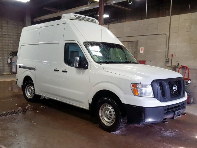 Salvage 2014 Nissan NV 2500 for sale
