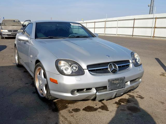 Salvage 2000 Mercedes-Benz SLK 230 KO for sale