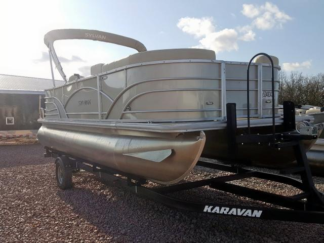 Salvage 2019 Sylvan BOAT for sale
