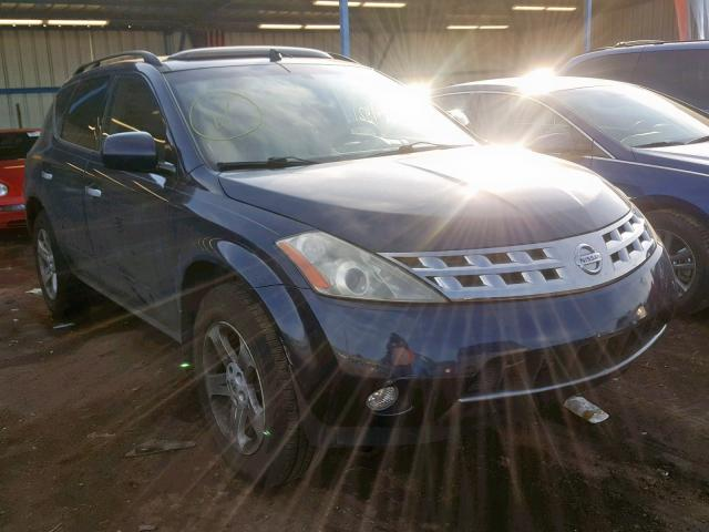 click here to view 2003 NISSAN MURANO SL at IBIDSAFELY