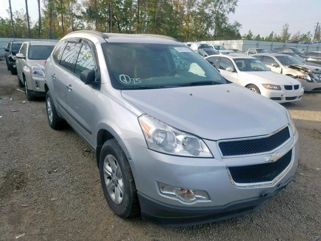 Salvage cars for sale at Harleyville, SC auction: 2012 Chevrolet Traverse L