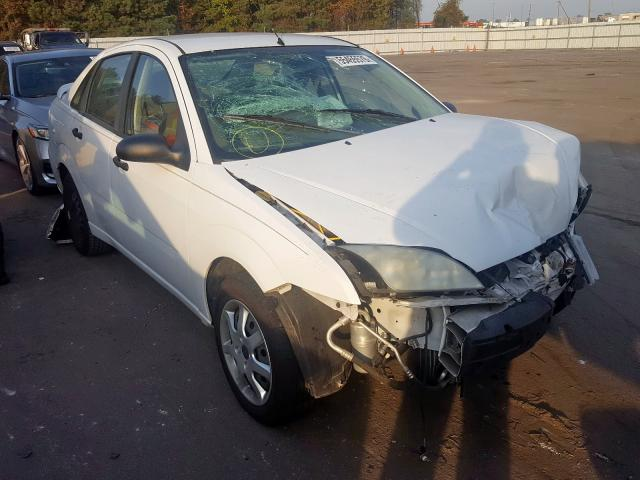 Salvage cars for sale from Copart Dunn, NC: 2005 Ford Focus ZX4