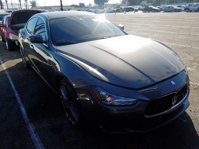 click here to view 2017 MASERATI GHIBLI S at IBIDSAFELY