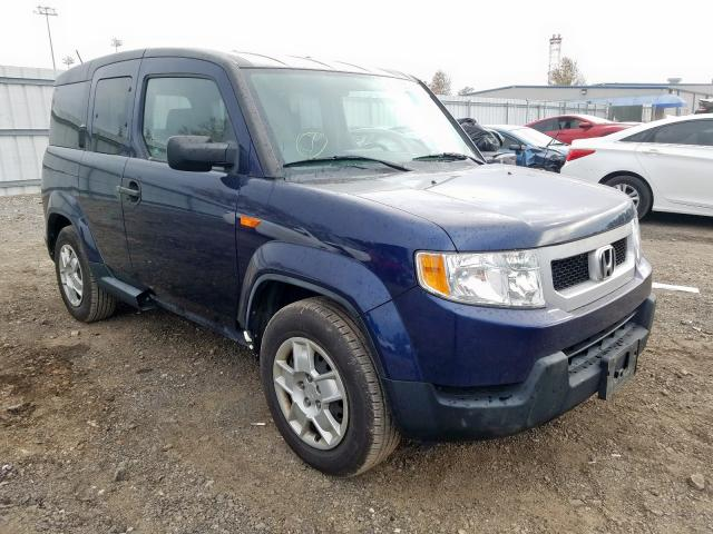 Honda Element LX salvage cars for sale: 2009 Honda Element LX