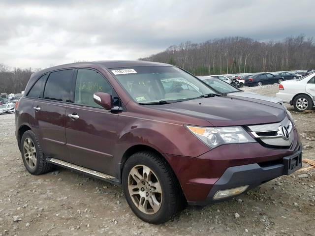 click here to view 2008 ACURA MDX TECHNO at IBIDSAFELY