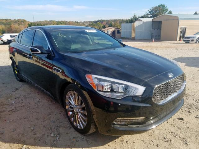 KIA K900 salvage cars for sale: 2017 KIA K900