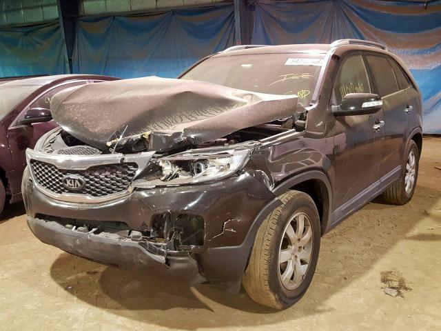 из сша 2012 Kia Sorento Ba 3.5L 5XYKT4A2XCG242459