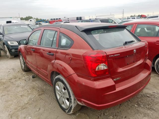 2007 DODGE CALIBER SX - Right Front View