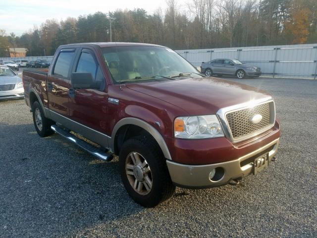 Salvage 2006 Ford F150 SUPER for sale
