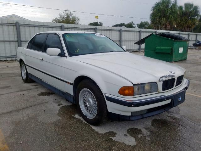 BMW 740 IL salvage cars for sale: 1998 BMW 740 IL