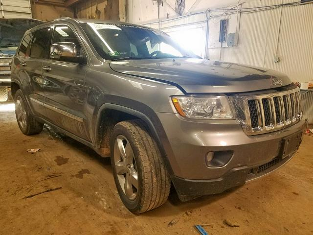 Salvage cars for sale from Copart Casper, WY: 2012 Jeep Grand Cherokee