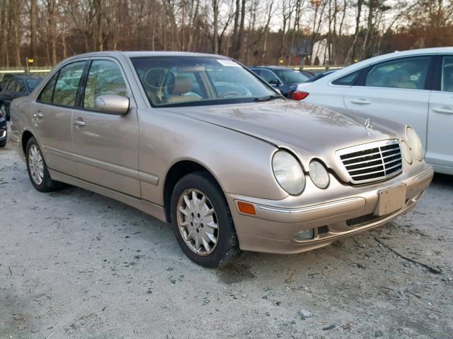 2002 Mercedes-Benz E 320 4Mat 3.2L