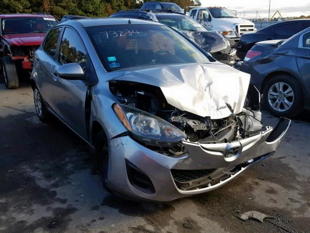 Salvage cars for sale from Copart Dunn, NC: 2012 Mazda 2