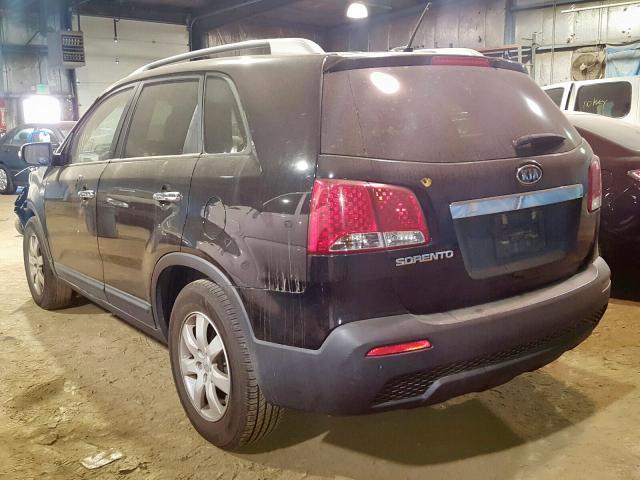 купить 2012 Kia Sorento Ba 3.5L 5XYKT4A2XCG242459