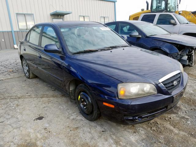 2006 Hyundai Elantra Gl 2.0L