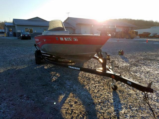 Salvage 2011 Tracker MARINE TRAILER for sale