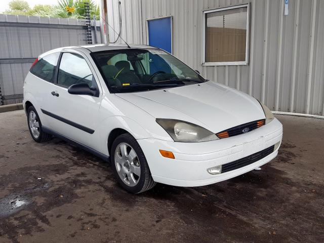 Ford Focus ZX3 salvage cars for sale: 2002 Ford Focus ZX3