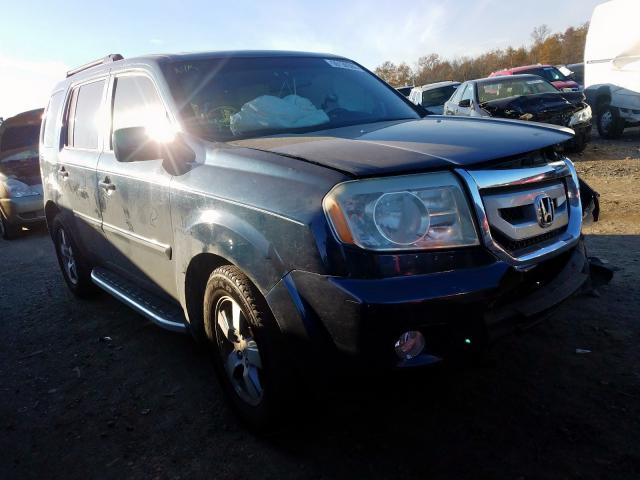 Honda Pilot EXL salvage cars for sale: 2009 Honda Pilot EXL