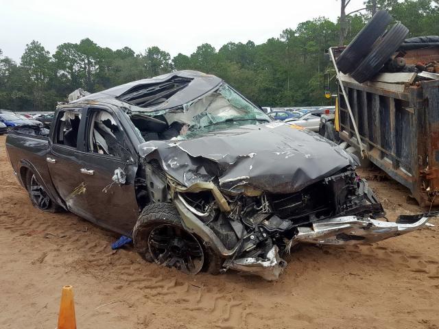 Salvage trucks for sale at Jacksonville, FL auction: 2016 Dodge 1500 Laram