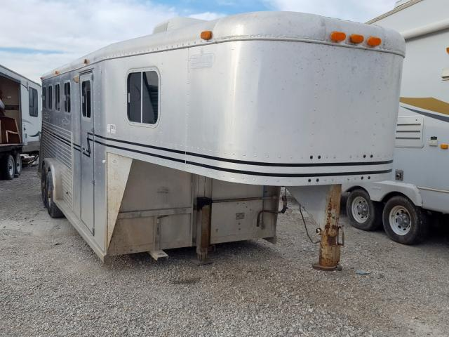 Soon Horse Trailer salvage cars for sale: 1995 Soon Horse Trailer