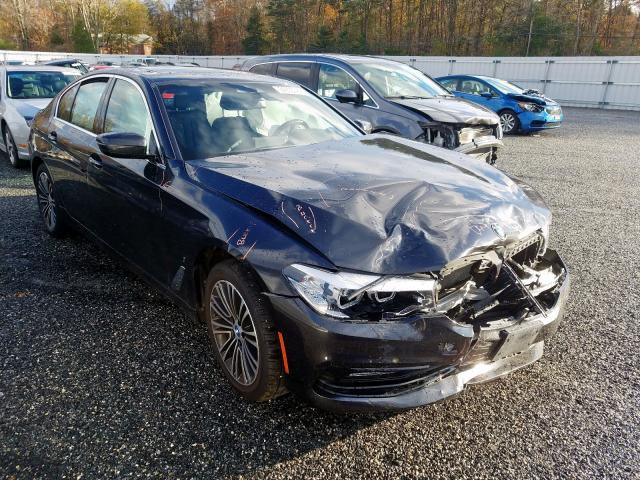 Salvage 2018 BMW 530XE for sale