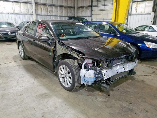 Salvage cars for sale from Copart Woodburn, OR: 2018 Toyota Camry L