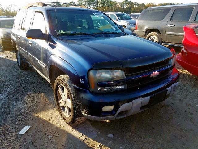 Salvage cars for sale from Copart Houston, TX: 2003 Chevrolet Trailblazer