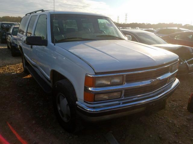Chevrolet Suburban K salvage cars for sale: 1996 Chevrolet Suburban K
