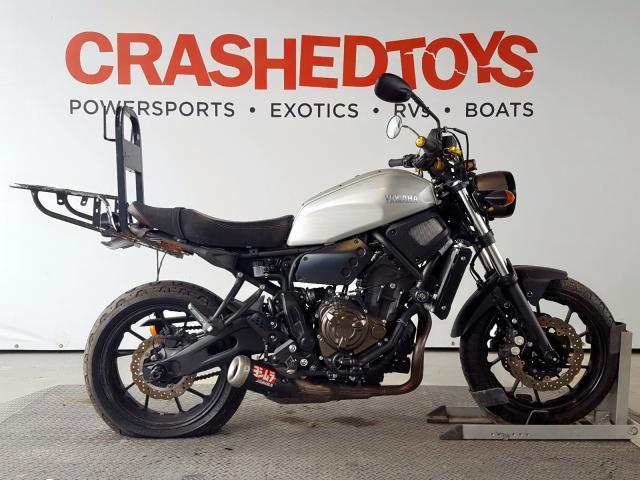 Salvage 2018 Yamaha XSR700 for sale