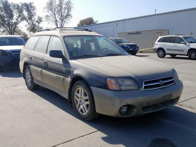 Salvage 2001 Subaru LEGACY OUTBACK for sale