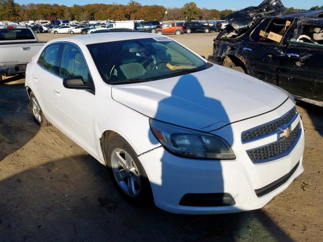 Chevrolet salvage cars for sale: 2013 Chevrolet Malibu LS