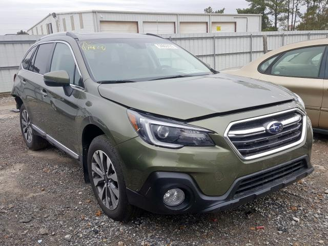 Salvage 2018 Subaru OUTBACK TO for sale
