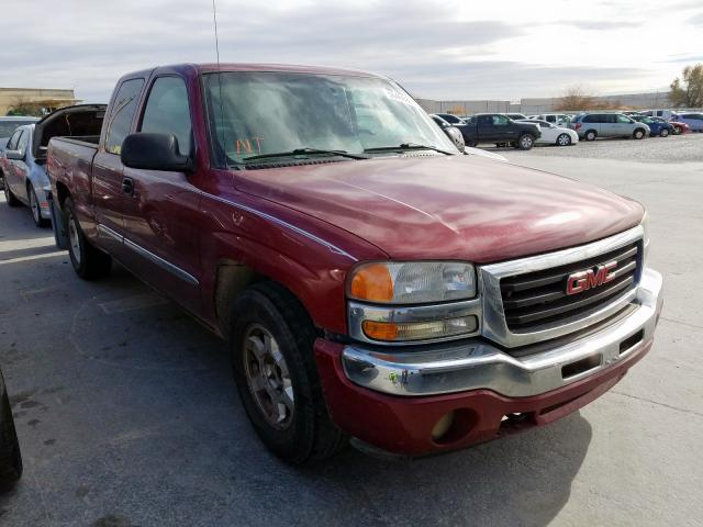 GMC New Sierra salvage cars for sale: 2005 GMC New Sierra