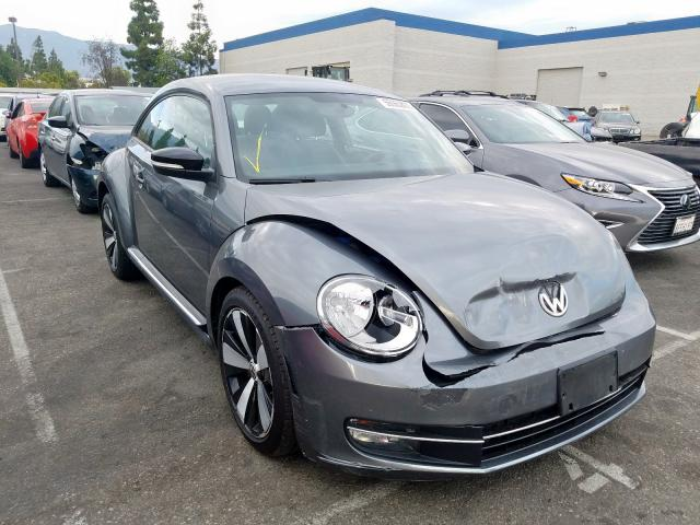 Salvage cars for sale from Copart Rancho Cucamonga, CA: 2012 Volkswagen Beetle Turbo