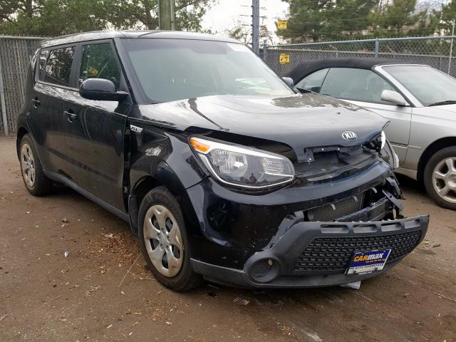 KIA Soul salvage cars for sale: 2015 KIA Soul