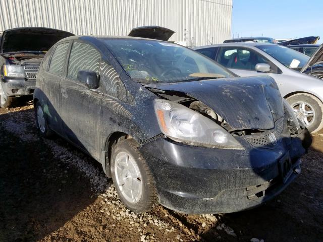 Salvage cars for sale from Copart Rocky View County, AB: 2009 Honda FIT LX