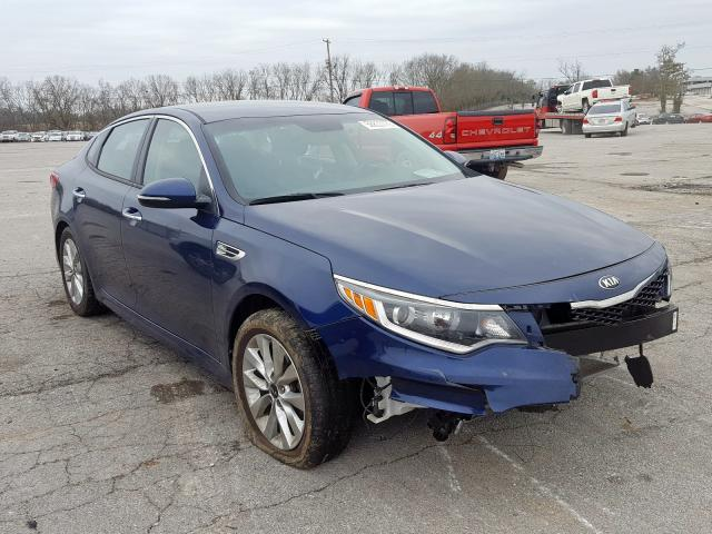 Salvage cars for sale from Copart Lexington, KY: 2017 KIA Optima LX