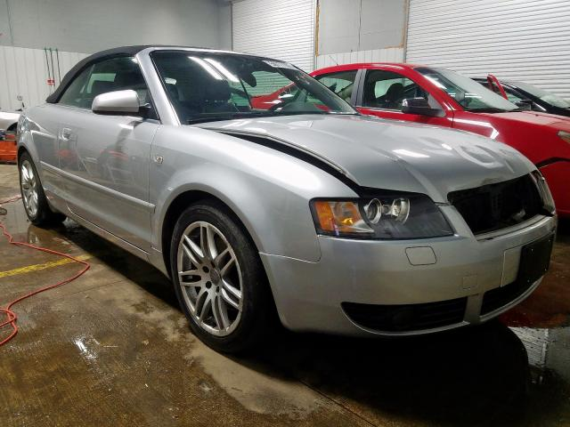 Salvage 2003 Audi A4 3.0 CAB for sale