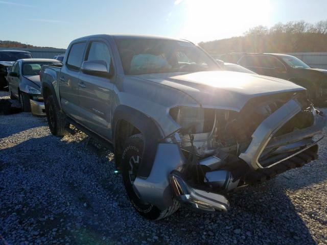 Salvage cars for sale from Copart Tulsa, OK: 2017 Toyota Tacoma DOU