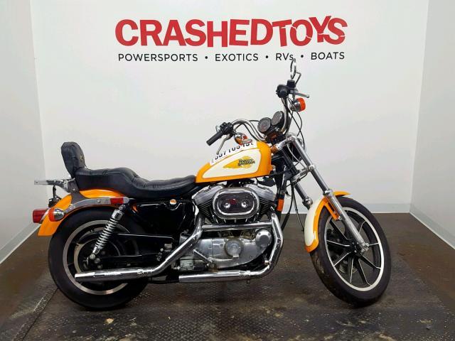 Salvage 1991 Harley-Davidson XLH1200 for sale