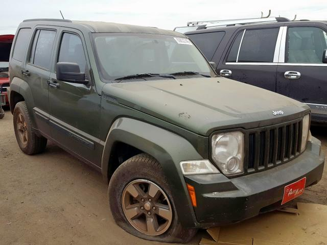 Jeep salvage cars for sale: 2008 Jeep Liberty SP