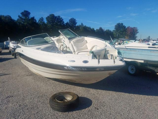 Salvage cars for sale from Copart Harleyville, SC: 2007 Azur Boat & TLR