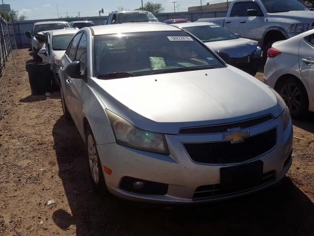 Salvage cars for sale from Copart Mercedes, TX: 2012 Chevrolet Cruze LS
