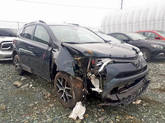 Salvage 2017 Toyota RAV4 SE for sale